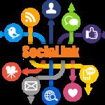 Image of SociaLink logo - social media local online marketing