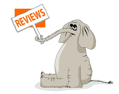 online reviews elephant image