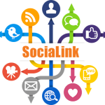 Image of SociaLink logo - social media local online marketing